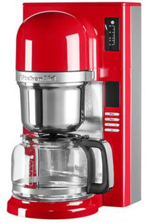 cafetiere kitchenaid rouge