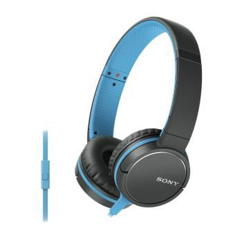 casque audio sony bleu