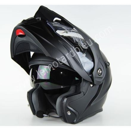 casque moto bluetooth integre