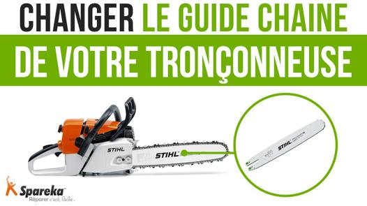 changer chaine tronconneuse