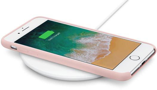 chargeur qi iphone