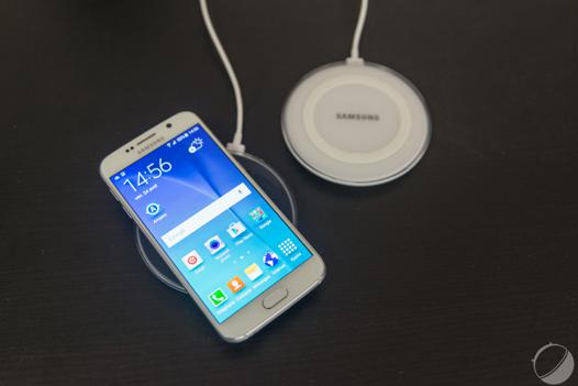 chargeur qi samsung