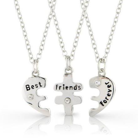 collier best friend pour 3