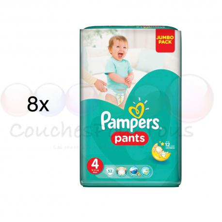couche pampers pants taille 4