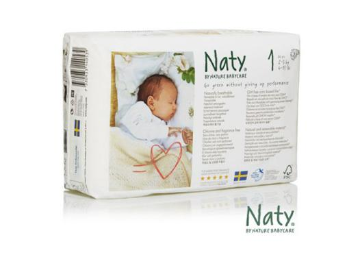 couches naty taille 1