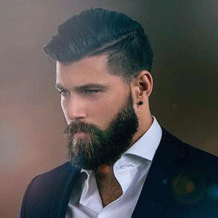 coupe cheveux barbe