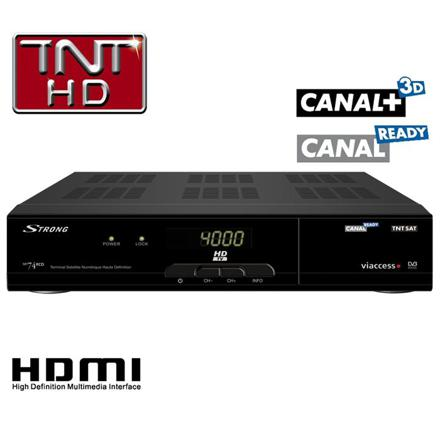 decodeur satellite canalsat ready