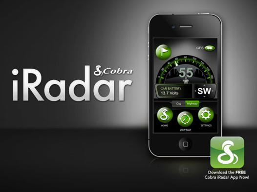 detecteur de radar iphone