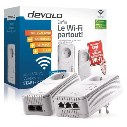 devolo kit cpl wifi 500