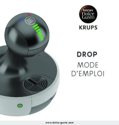 dolce gusto notice