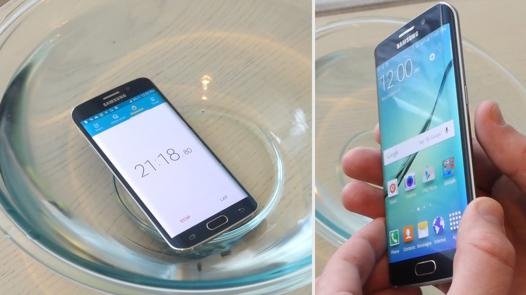 galaxy s6 edge plus resiste a l eau