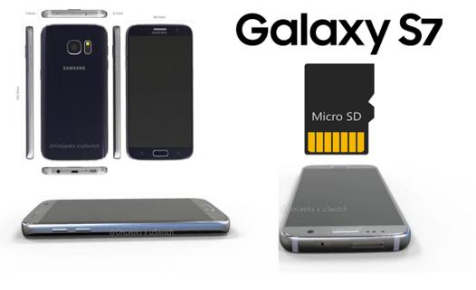 galaxy s7 carte sd