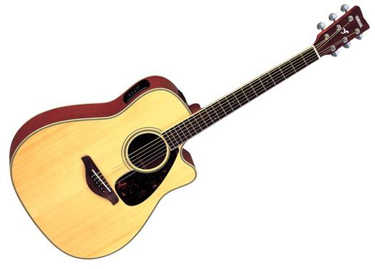 guitare yamaha folk electro acoustique
