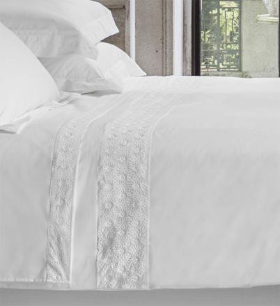 housse couette blanc
