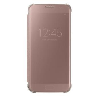 housse galaxy s7 rose
