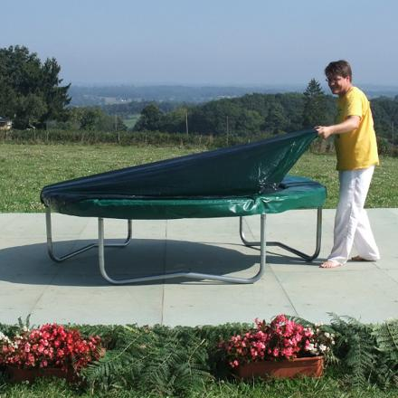 housse protection trampoline 244