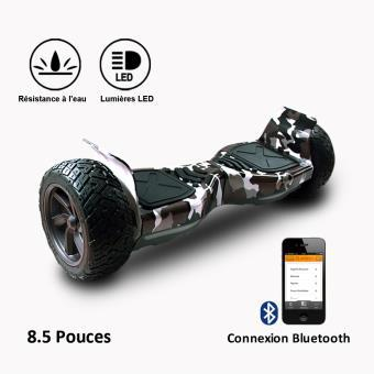 hoverboard tout terrain bluetooth