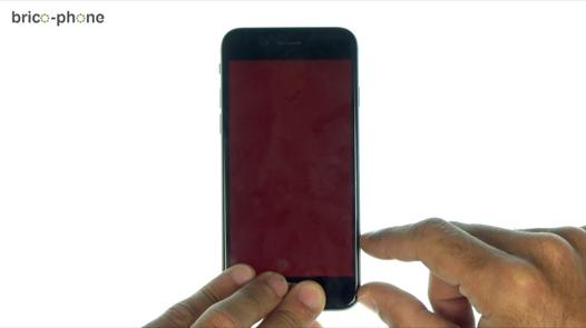 iphone 5s ecran rouge