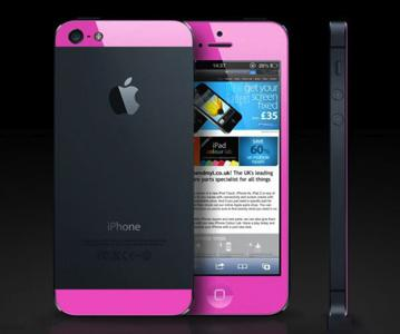 iphone 5s rose et noir
