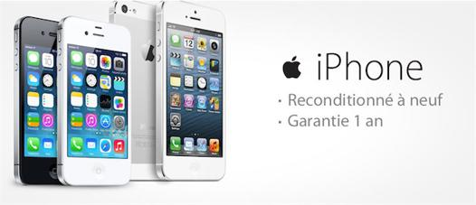 iphone reconditionne apple