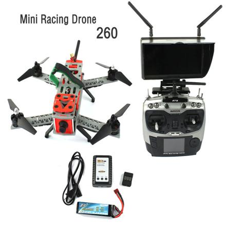 kit complet drone fpv racing