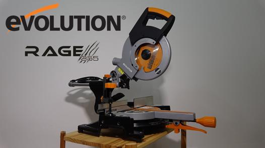 lame evolution rage 3 255 mm