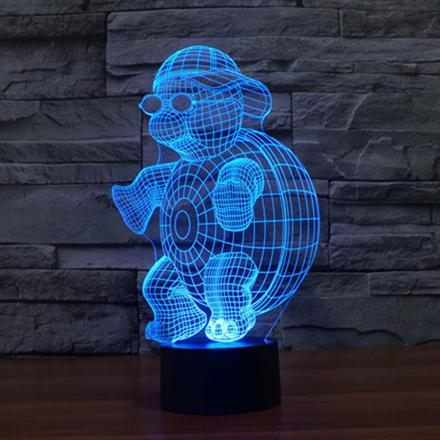 lampe led 3d illusion