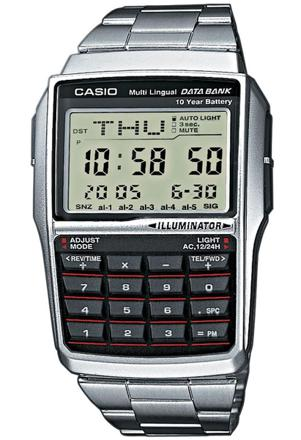 montre casio calculatrice
