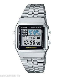 montre casio world time