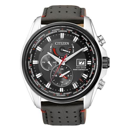 montre citizen eco drive radio pilotée