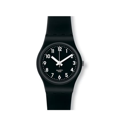 montre swatch noir