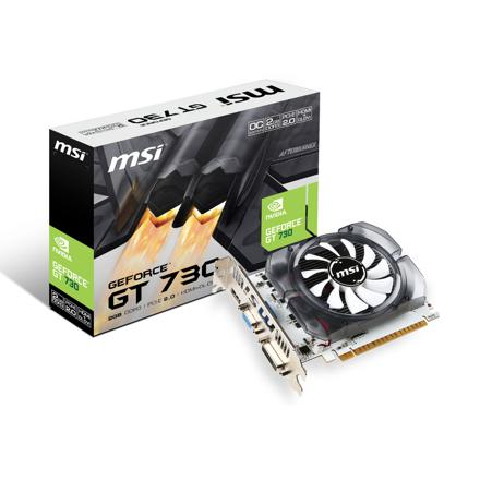 msi nvidia geforce gt 730 2 go