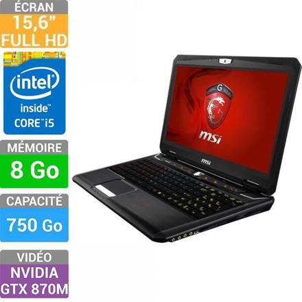 msi ou asus pc portable gamer