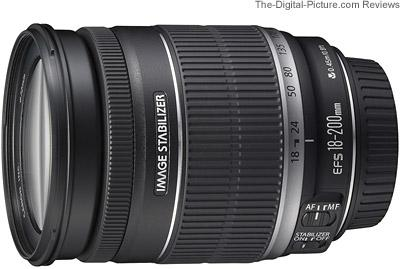 objectif canon ef s 18 200mm f 3.5 5.6 is