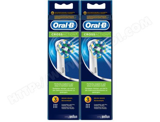 oral-b crossaction brossettes