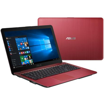 ordinateur portable rouge