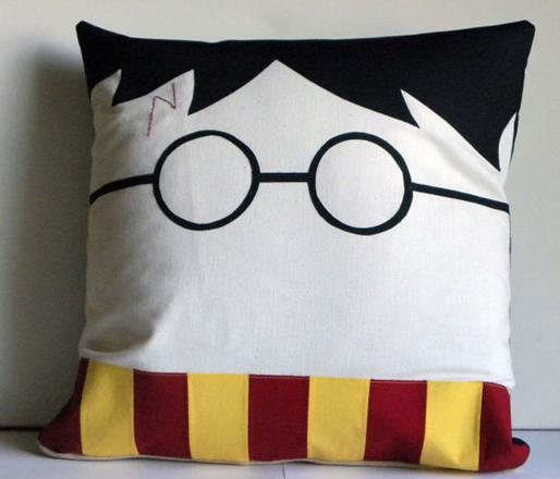 oreiller harry potter