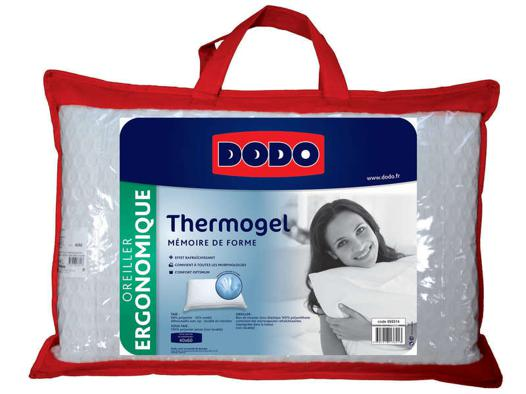 oreiller thermogel dodo