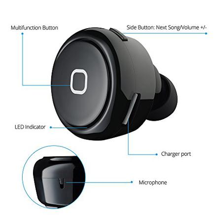 oreillette bluetooth 4.0