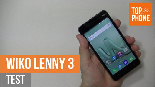 ouverture wiko lenny 3