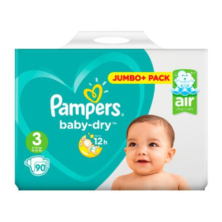 pampers 3 baby dry