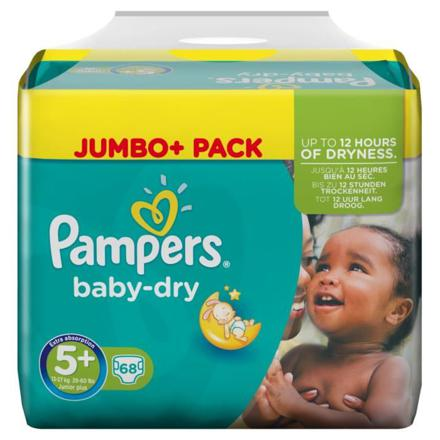 pampers jumbo pack taille 5