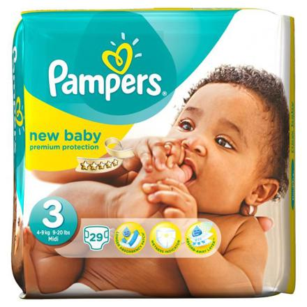 pampers new baby taille 3