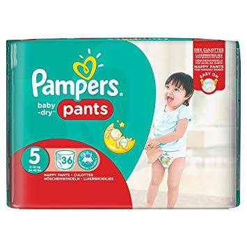 pampers pants taille 5