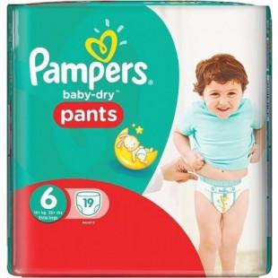 pampers pants taille 6