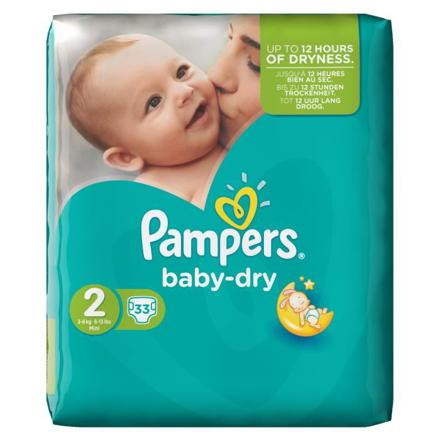 pampers taille 2 baby dry
