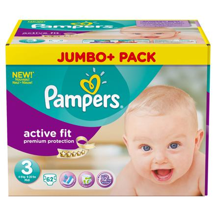 pampers taille 3 active fit